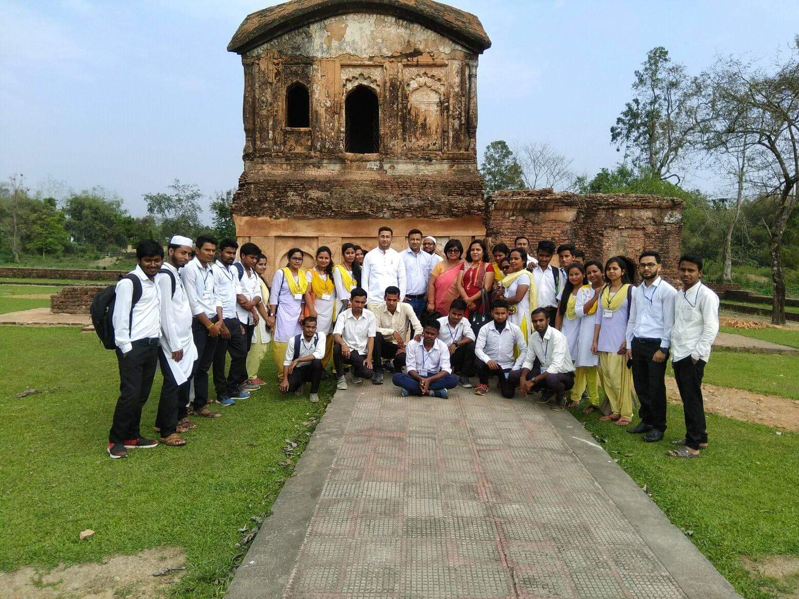 Environmental Field Visit Session 2016-18, Khaspur