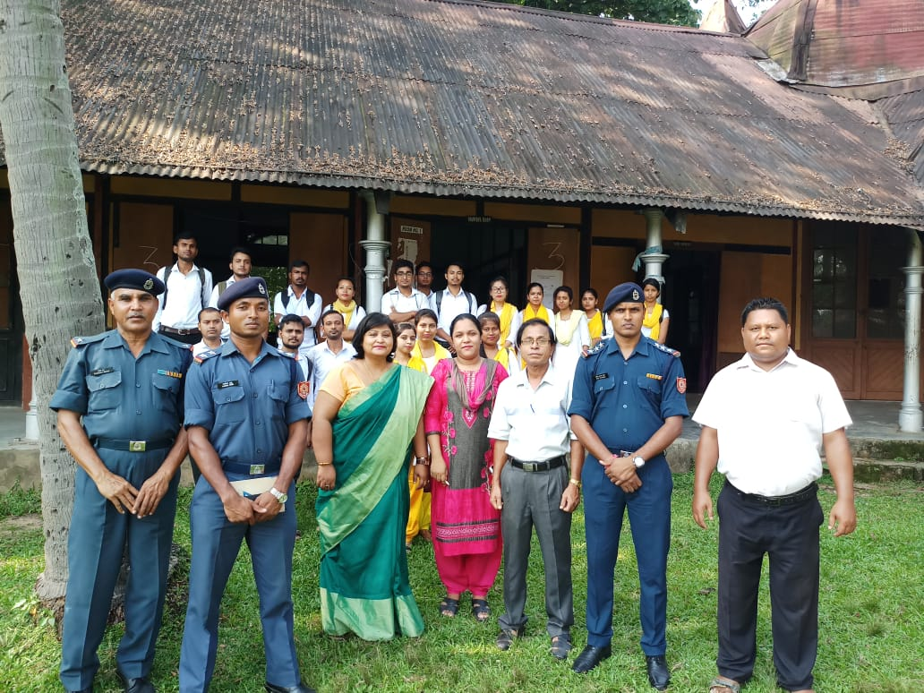Disaster Management Awareness Camp Organised By DDMA & NDRF In Collaboration With Assam University, Silchar